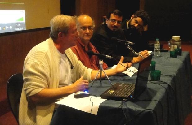 David Tygel, Ivan Capeller, Bernardo Pellon e Carlos Henrique Guadalupe Silveira.