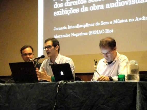 Márcio Pizzi, Leonardo de Marchi, Alexandre Negreiros
