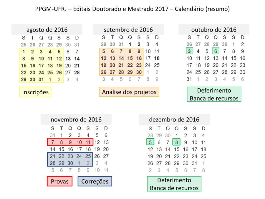 11 Editais Doutorado Mestrado 2017 Calendário.png